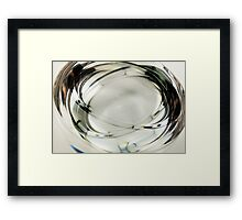 Paper Weight Multiple Exposure Framed Print