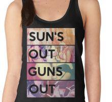 Sun's out guns out Women's Tank Top