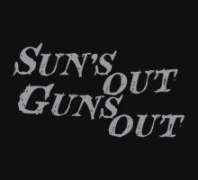 Sun's out guns out by nektarinchen
