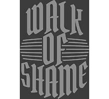 Walk of shame Photographic Print