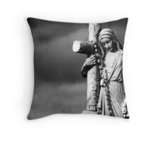 bittersweet journey Throw Pillow