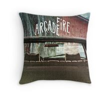 Arcade Fire Suburbs Throw Pillow