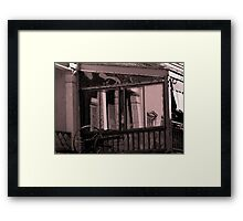 Architectural Reflections From Another Era Framed Print