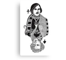 Gogol vs Pushkin Canvas Print