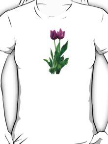Two Purple Tulips T-Shirt