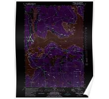 Maine USGS Historical Map Salsbury Cove 102938 1981 24000 Inversion Poster
