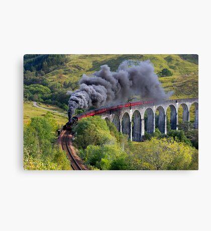 The Jacobite train Canvas Print