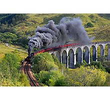 The Jacobite train Photographic Print