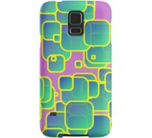 Vibrant colored squares Samsung Galaxy Case/Skin