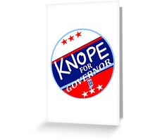 KNOPE FOR GOVERNOR 2026 Greeting Card