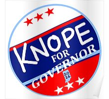 KNOPE FOR GOVERNOR 2026 Poster