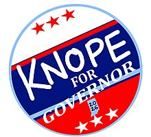 KNOPE FOR GOVERNOR 2026 Photographic Print