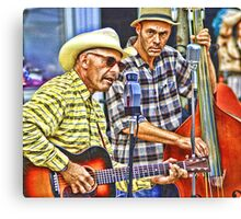 Mr. Rick & The Biscuits Canvas Print
