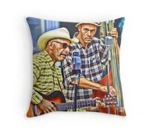 Mr. Rick & The Biscuits Throw Pillow