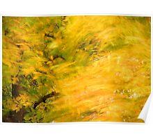golden wave Poster