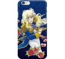 Oscar François de Jarjayes (Blue edit.) iPhone Case/Skin