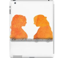 Sansa and Margaery iPad Case/Skin