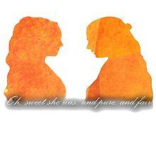 Sansa and Margaery by amynapkins