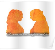 Sansa and Margaery Poster
