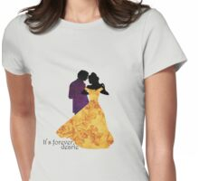 Rumbelle - It's Forever Dearie Womens Fitted T-Shirt