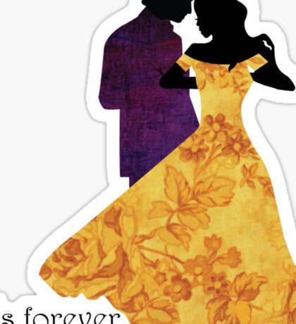 Rumbelle - It's Forever Dearie Sticker