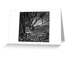 Sit down and reflect Greeting Card