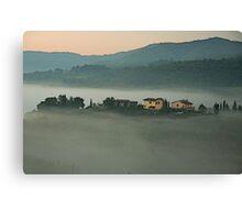 Sunrise in Chianti - Italy Canvas Print