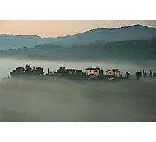 Sunrise in Chianti - Italy Photographic Print