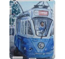 Streetcar,San Francisco iPad Case/Skin