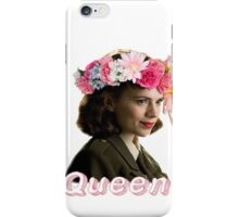 Peggy Carter is Queen iPhone Case/Skin