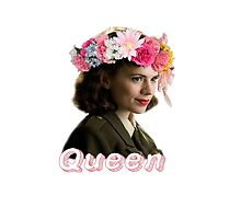 Peggy Carter is Queen by amynapkins