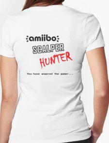 Amiibo Scalper Hunter OFFICIAL Womens Fitted T-Shirt