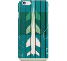 Missiles at dawn... in green! iPhone Case/Skin