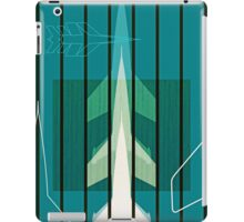 Missiles at dawn... in green! iPad Case/Skin