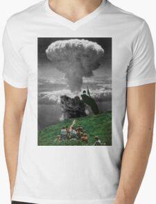 FUN LUNCH. Mens V-Neck T-Shirt