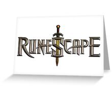 RuneScape  Greeting Card
