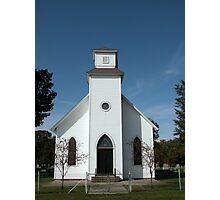 Sugar Creek Cemetery Chapel Photographic Print