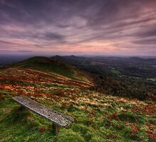 Take a Break - The Malvern Hills by Douglas  Latham