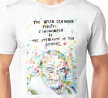 MAHATMA GANDHI quoting HIMSELF Unisex T-Shirt