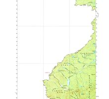 Maine USGS Historical Map Sandy Bay 460831 1927 62500 by wetdryvac