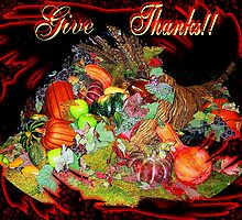 GIVE THANKS! by Ruth Kauffman