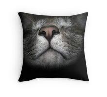 The Nose Throw Pillow