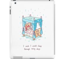 Rainy Days 2 iPad Case/Skin