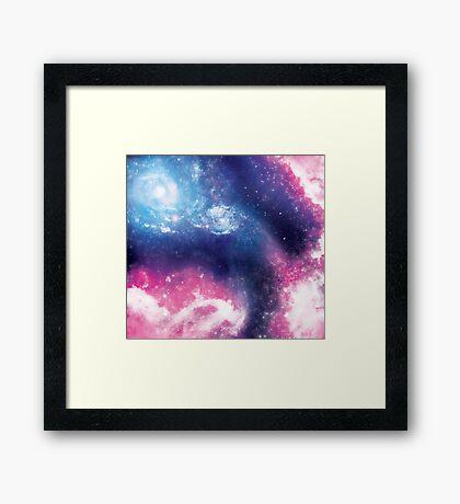 Purple Galaxy Framed Print