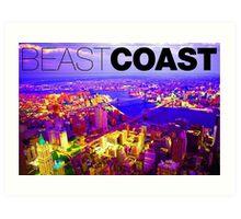 Brooklyn Beast Coast Art Print