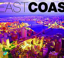 Brooklyn Beast Coast by lamathojo