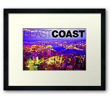 Brooklyn Beast Coast Framed Print
