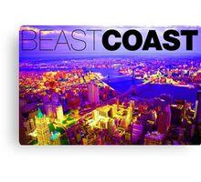 Brooklyn Beast Coast Canvas Print