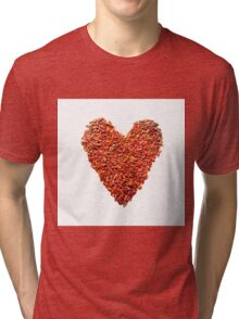 Chlili heart Tri-blend T-Shirt