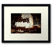 Roma - Wash Day. Framed Print